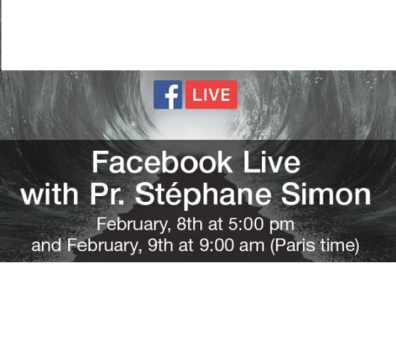 Facebook live with Prof. Stéphane SIMON